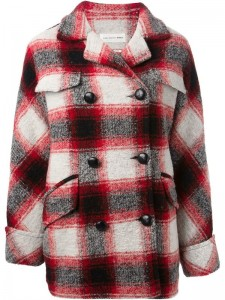 Flannel Long Coat