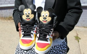 Sneaker Mickey Mouse