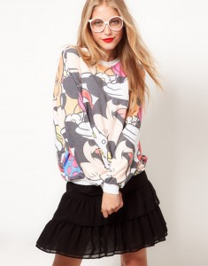 Sweater mickey Mouse Fashion Style