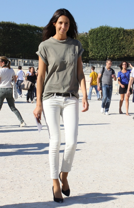Perfect Ways with White Jeans for Women - Heey Fashion Style