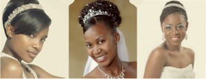 wedding hairstyles for african american brides with natural hair