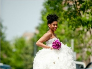 wedding hairstyles for african american natural hair