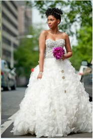 wedding hairstyles for short kinky hair