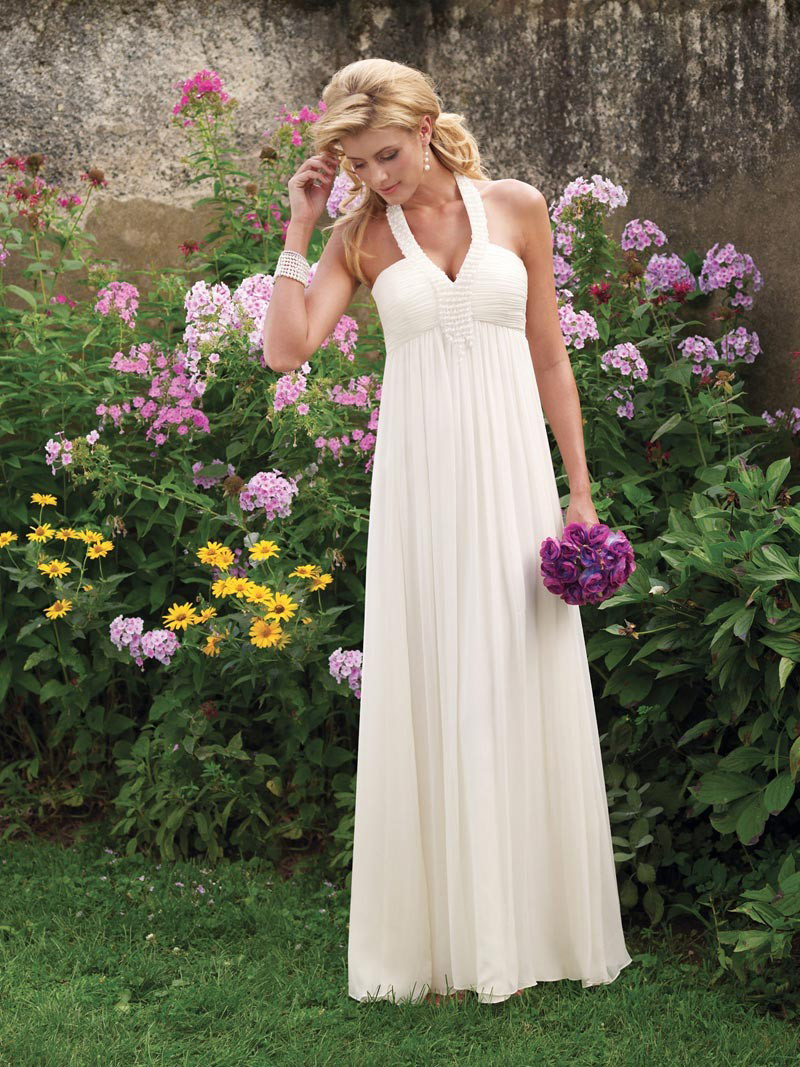 simple outdoor wedding dresses 2014 heey fashion style