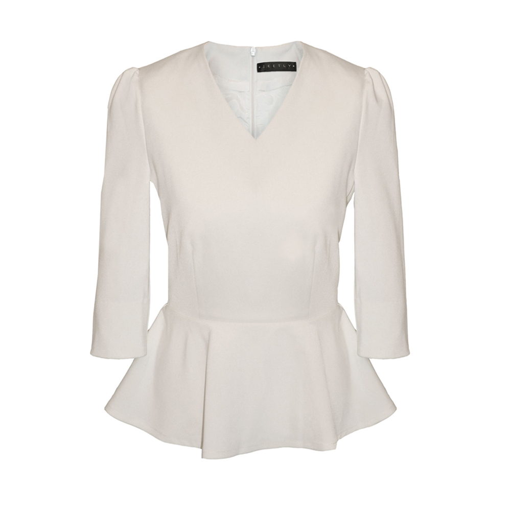 White Petite Blouses For Work Heey Fashion Style