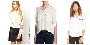 Military Blouses For Work