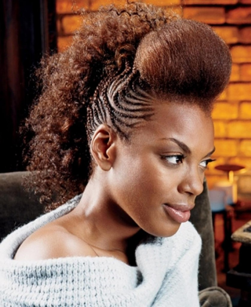 Superb Top Mohawk Hairstyles For Black Women Heey Fashion Style Hairstyle Inspiration Daily Dogsangcom