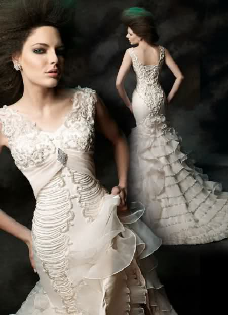 Awesome White Gothic Wedding Dress Images - Style and Ideas ...