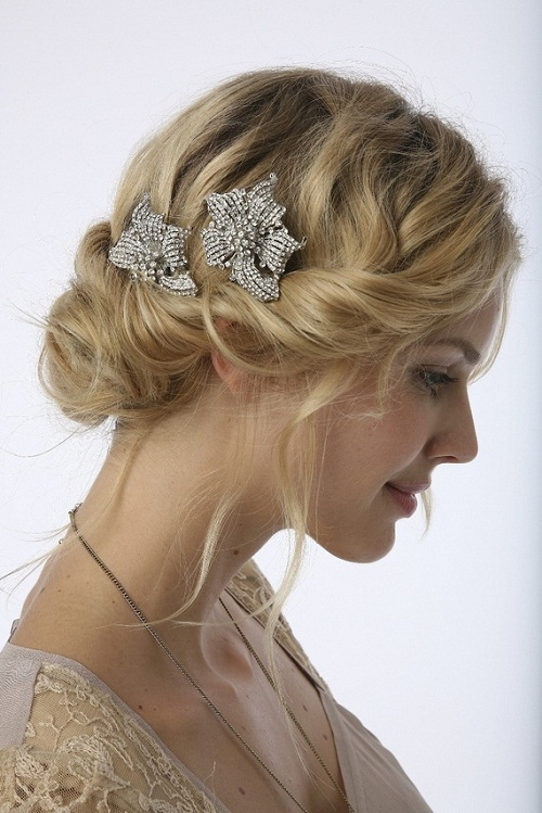 Astounding Hairstyles For Wedding Party 2015 Hairstyle Pictures Short Hairstyles Gunalazisus