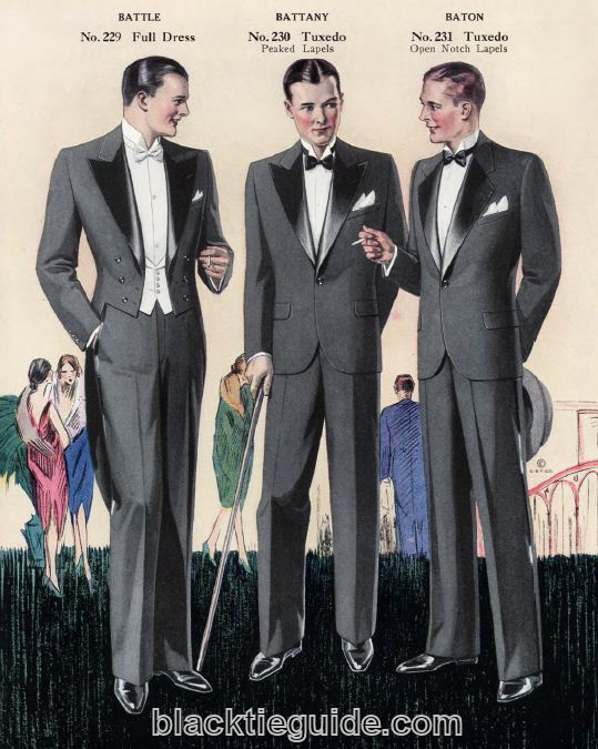1920s formal fashion