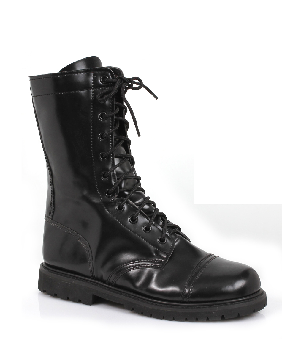 ACCESSORIES / SHOP BY CHARACTER / Military / Mens Black Combat Boots