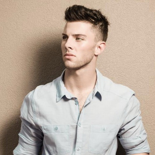 Hipster hairstyle ideas men short