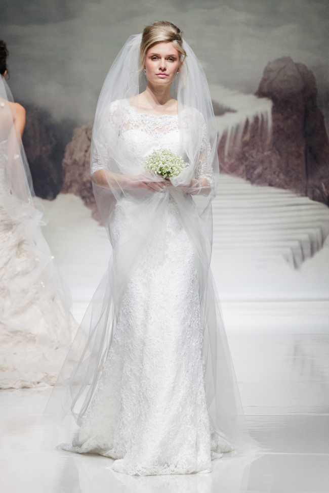 Hot off the catwalk! Wedding dress trends for 2015