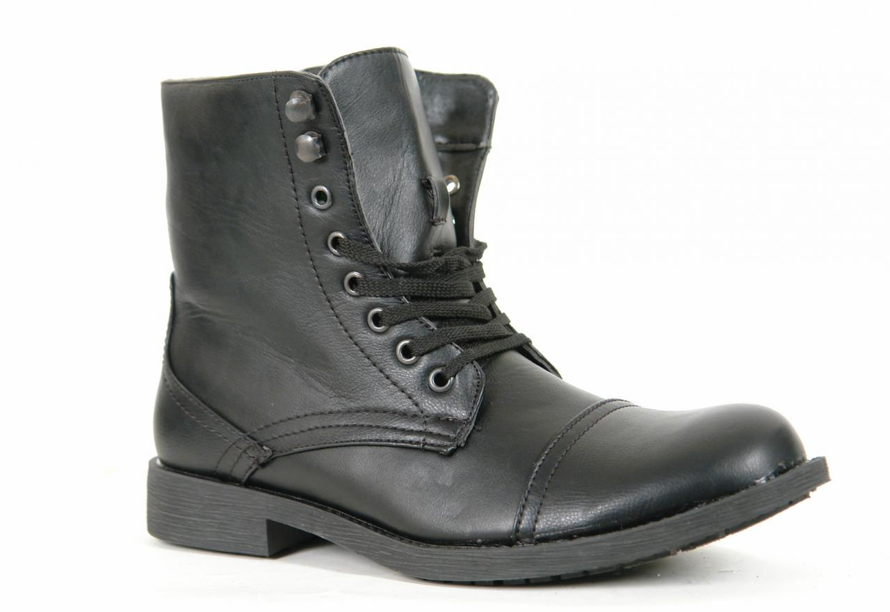 Mens Combat Military Style Boots 2015