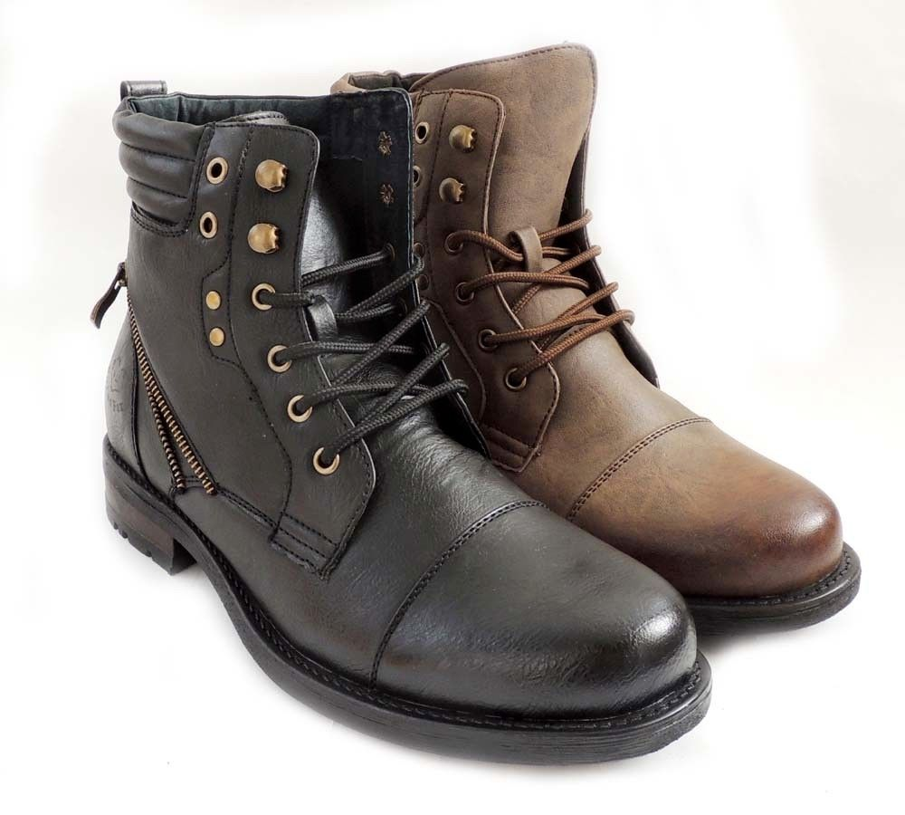 Combat Style Boots Men - Yu Boots