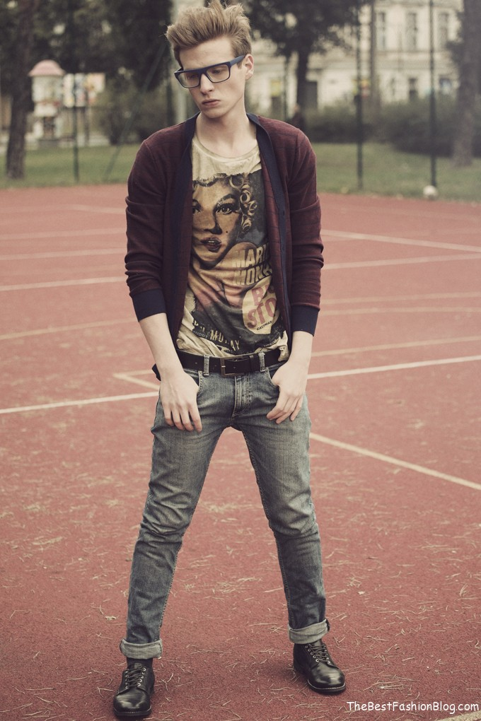 Modern hipster for men heey fashion style