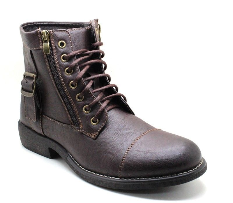 New Men's Military Combat Style Boots Shoes