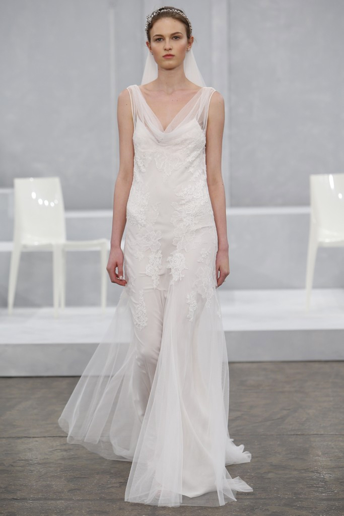 The Spring 2015 show for wedding trends