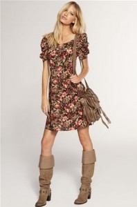 109332-Floral-Summer-Dress-With-Boots