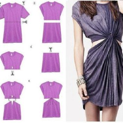 DIY-dress-from-a-t-shirt-1-250x250