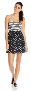 black and white polka stripes3