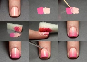 fade effect nail art for beginners tutorial