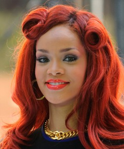 rihanna-hairstyle-formal-half-up-long-curly