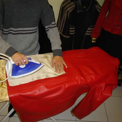 how-to-iron-leather