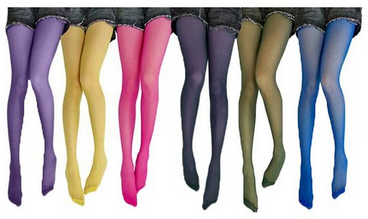 pantyhose colors
